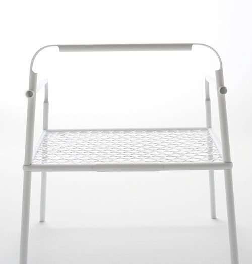 Bamboo Steel Chair by Nendo in main home furnishings  Category