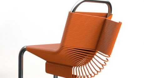 Coat Check Chair by Joey Zeledón