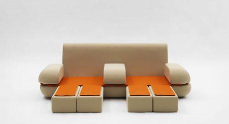 Dynamic Life Sofa by Matali Crasset