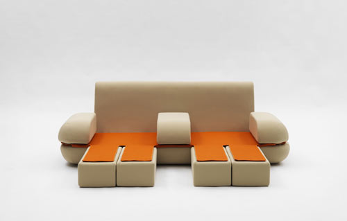 Dynamic Life Sofa by Matali Crasset