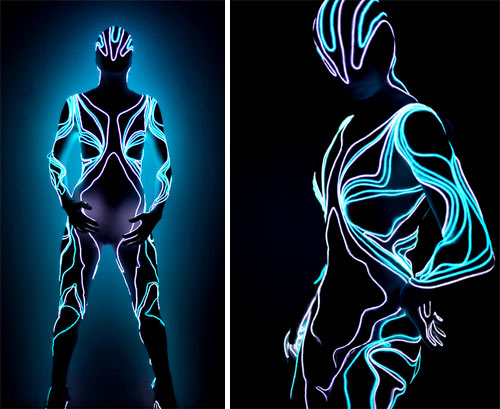 Lighted Suits by Visual Drugstore in technology style fashion main art  Category