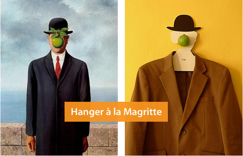 Magritte Hanger in style fashion main home furnishings  Category