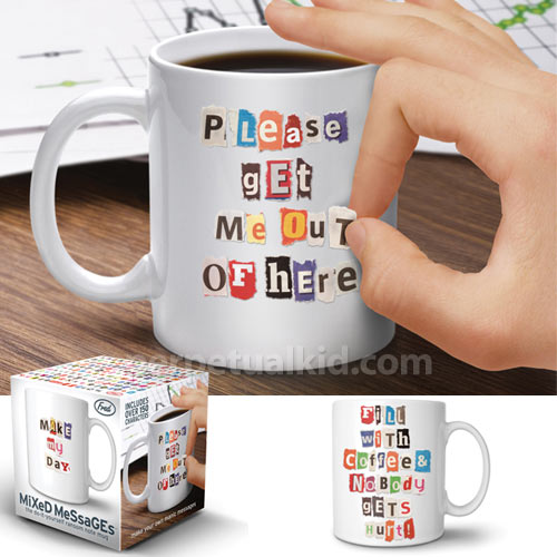 Mixed Messages Mug in home furnishings  Category