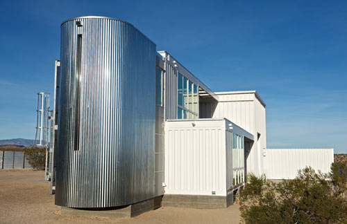 Shipping Container Hybrid House by ecotechdesign in main architecture  Category