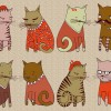 sweater-cats