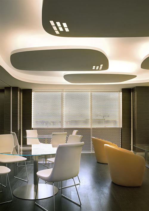IBM Executive Briefing Center by Iosa Ghini in main interior design architecture  Category