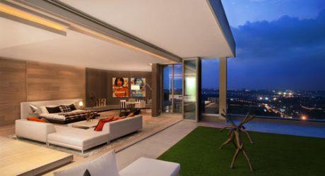 Penthouse Interior by SAOTA and OKHA Interiors