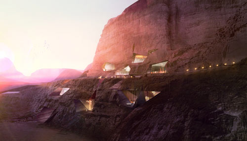 Wadi Rum Resort by Oppenheim Architecture + Design in main architecture  Category