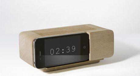 Alarm Dock and Analog Radio by Jonas Damon