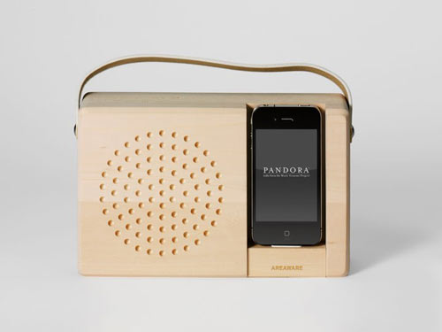 Alarm Dock and Analog Radio by Jonas Damon in technology style fashion main home furnishings  Category