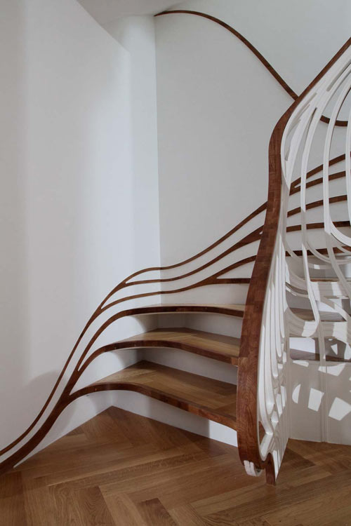 Trippy Stairs in main architecture  Category