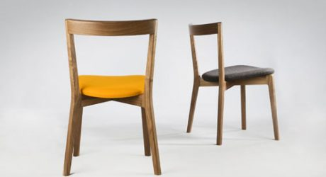 Cross Side Chair by David Irwin