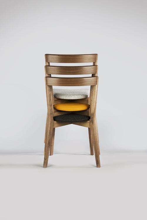 Cross Side Chair by David Irwin in home furnishings  Category