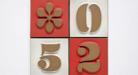 House Numbers from Heath Ceramics and House Industries