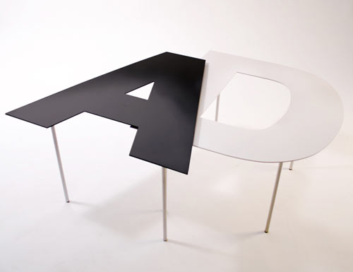 Fontable by Alessandro Canepa and Andrea Paulicelli in home furnishings  Category