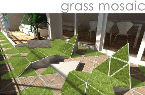 grass-mosaic