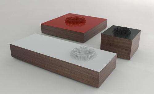 Huddle Tables by Matthew Kroeker