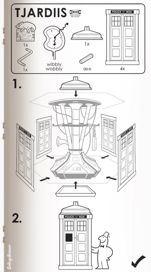 Sci Fi IKEA Manuals
