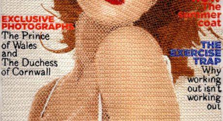 Stitched Magazines by Inge Jacobsen