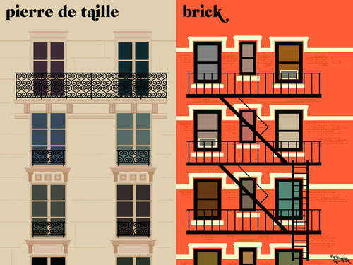 Fresh From The Dairy: Paris vs. NYC in main art  Category