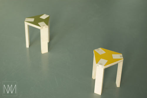 Moody Donja Stool by MbyMartin in main home furnishings  Category