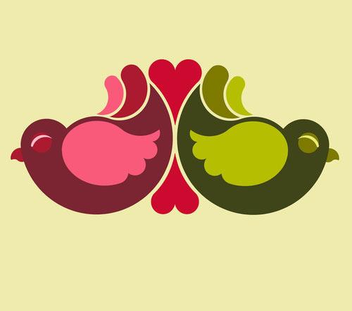 olive-rosebirds