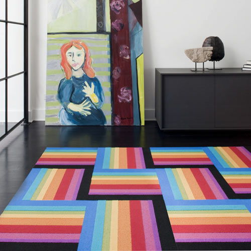 A Rainbow FLOR in home furnishings  Category