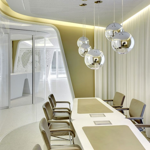 Raiffeisen Bank by NAU in main interior design architecture  Category
