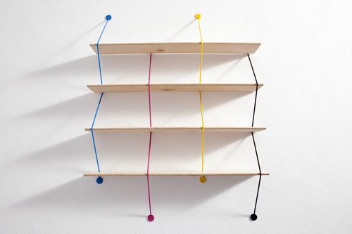Serpent Shelving by Bashko Trybek