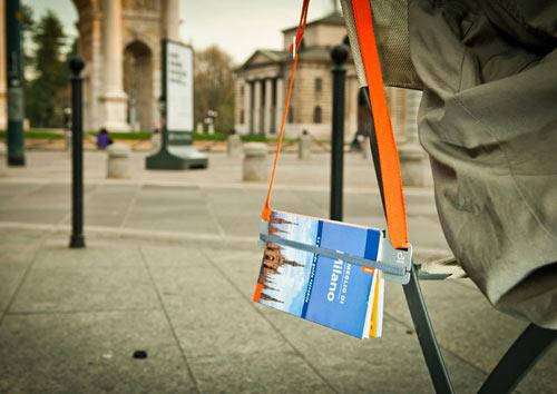 Walk Around Bookmark