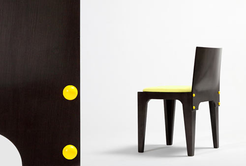 Button Chair by Sanil Choi