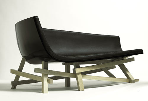Adna Chaise by David Weeks Studio in main home furnishings  Category
