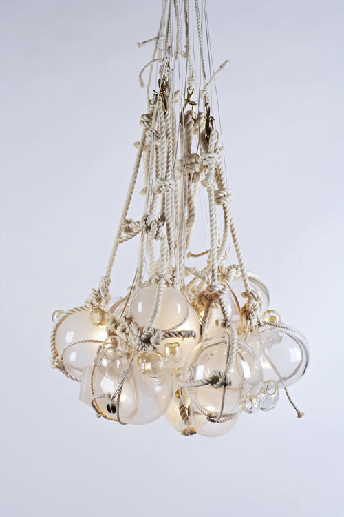 Knotty Bubbles by Lindsey Adelman in home furnishings  Category