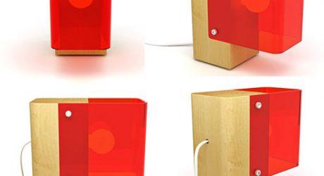Beam Table Lamp by Christian Vivanco