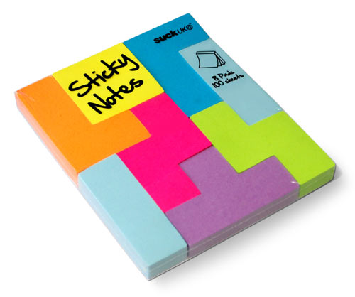 Tetris Style Sticky Notes in technology style fashion main  Category