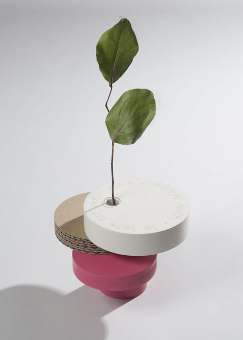 Bonsai equilibrium vases design milk for Bonsai vasi