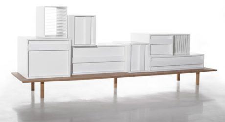 Container Sideboard by Alain Gilles
