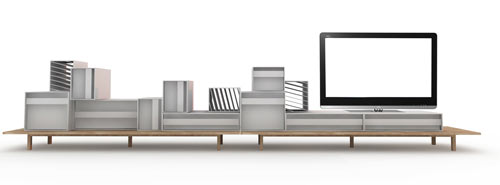 Container Sideboard by Alain Gilles in main home furnishings  Category