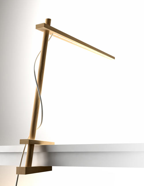 Clamp Lamp by Pablo Designs