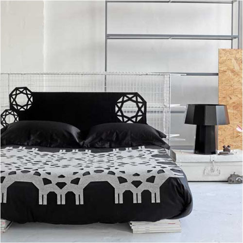 Lace Felt Throw in main home furnishings  Category