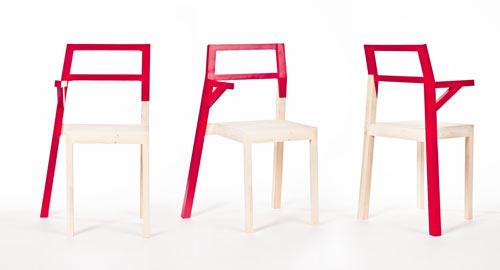 Hugo Chair by Kate Pashinova - Design Milk