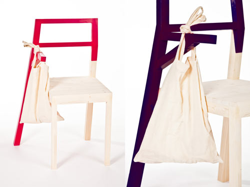 Hugo Chair by Kate Pashinova