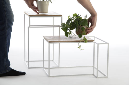 JU Tables by Olivier Desrochers in main home furnishings  Category