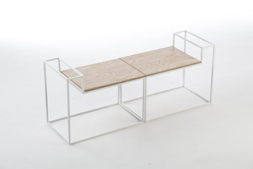JU Tables by Olivier Desrochers