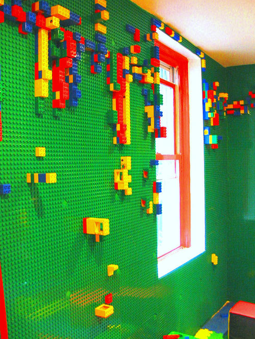 LEGO Wall in interior design  Category