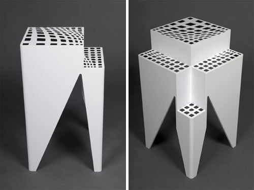 Heat Sensitive Lexham Bedside Tables by Studio801