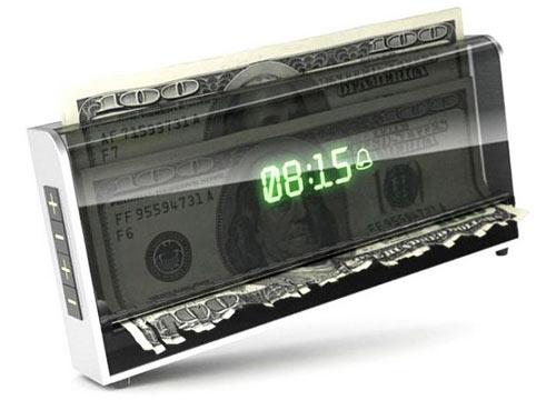 You Better Wake Up! Money Shredding Alarm Clock
