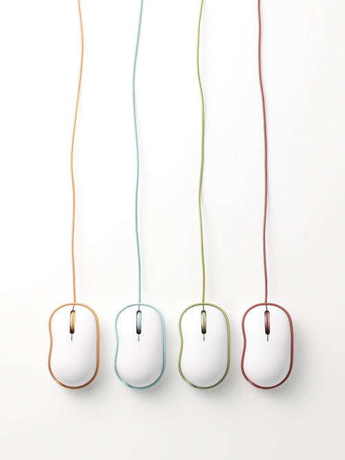 Rinkak Mouse by Nendo