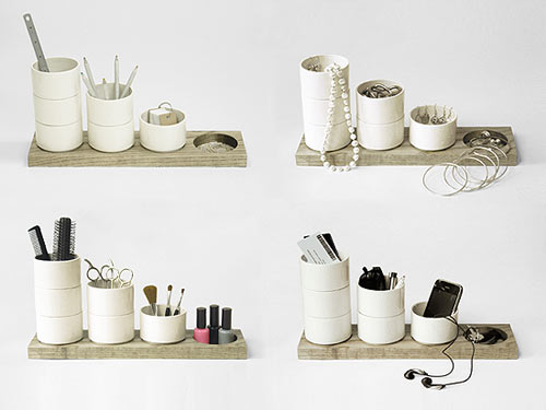 Shuffle Desk Tidy by RALLI Design in main home furnishings  Category