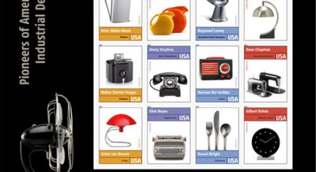 New Stamps Feature 12 Legendary American Industrial Designers